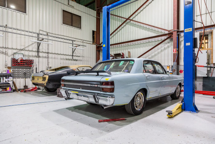 Warehouse - Trans Pacific Auto Body Repair