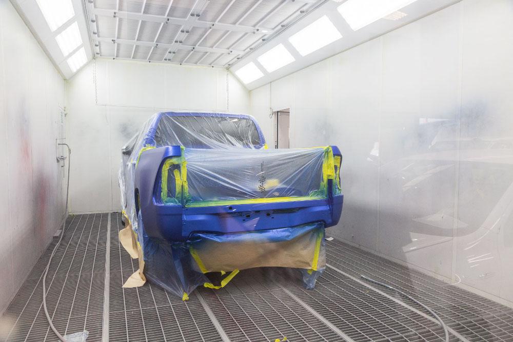 Spray Painting - Trans Pacific Auto Body Repair