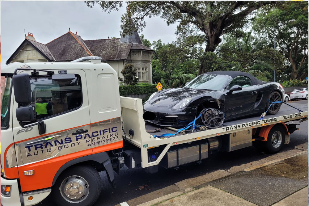 Towing Service - Trans Pacific Auto Body Repair