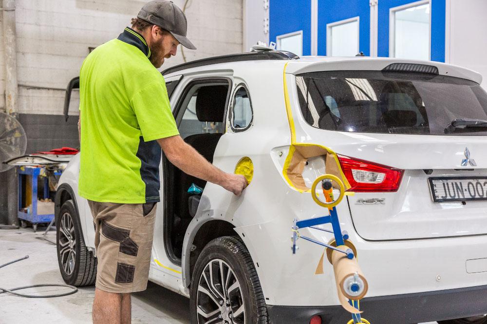 Panel Beater & Smash Repairs - Trans Pacific Auto Body Repair